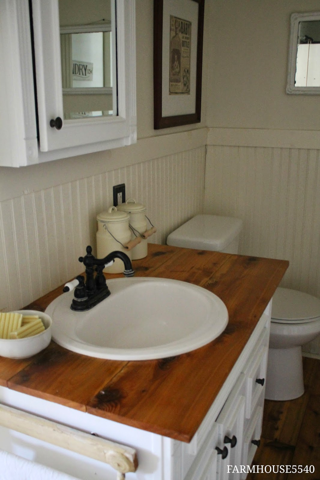 FARMHOUSE 5540 Farmhouse Bathroom