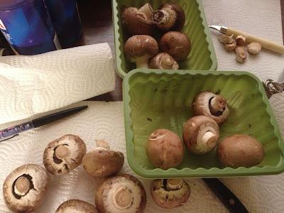 chestnut mushroom preparation