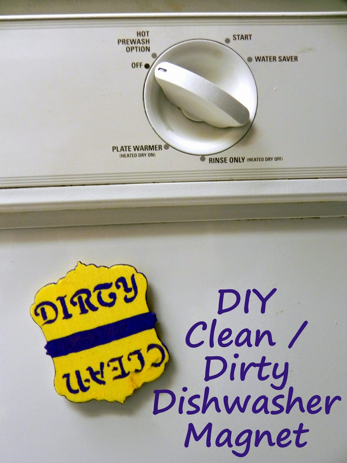 Smart N Snazzy Diy Dirty Clean Dishwasher Magnet