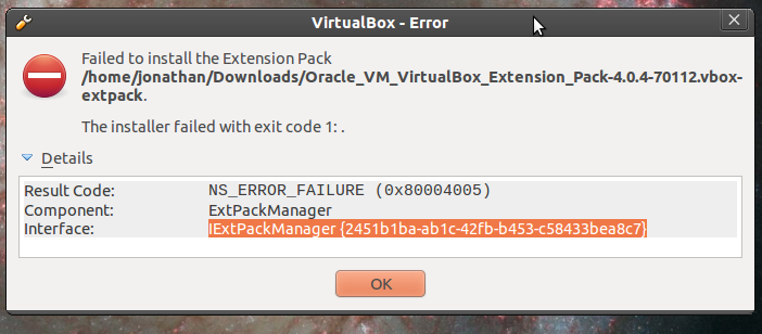 Download oracle vm virtualbox extension pack