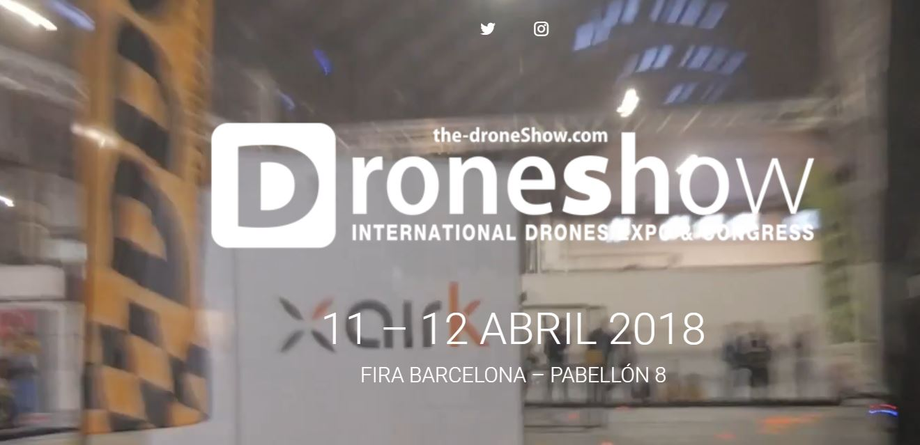 Daré charla en The Drone Show