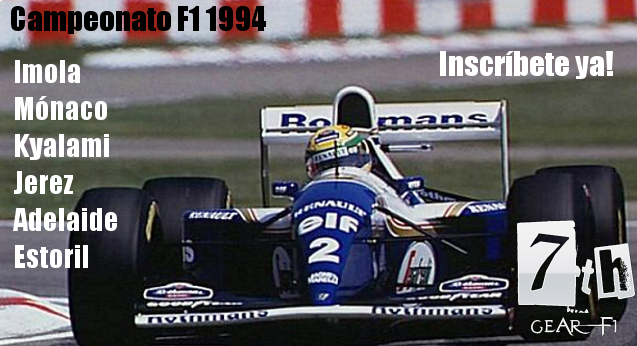 Carreras online F1 1994 rFactor
