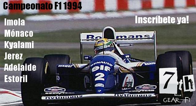 Carreras online F1 1994 rFactor