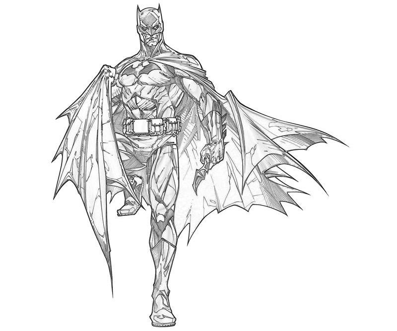 Batman Arkham City Batman Abilities How Coloring
