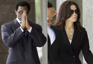 Wesley Snipes With Wife