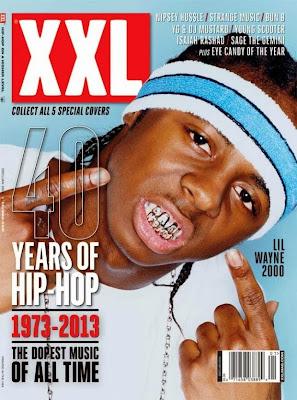 portada revista xxl lil wayne mejores discos y singles 40 años hip hop rap