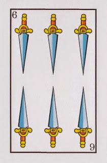 seis de espadas baraja española