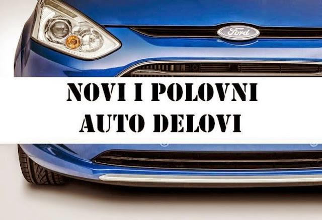 Originalni Ford polovni i novi delovi. Beograd.
