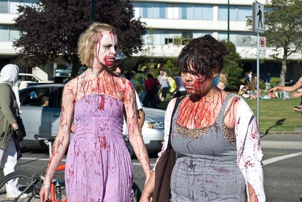 disfraz mujer zombie casero
