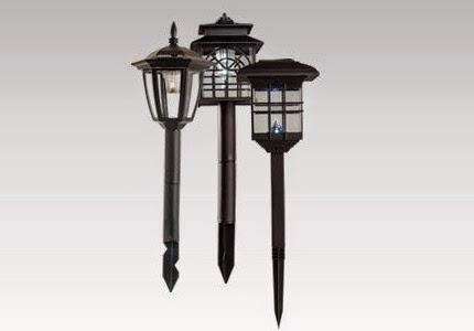 Duża lampa solarna LED z Biedronki
