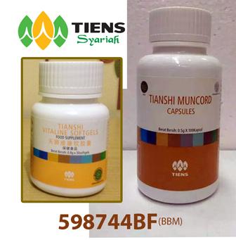Produk TIENS untuk Ginjal: Muncord Capsules dan Vitality Softgels | Hubungi: 598744BF (BBM)