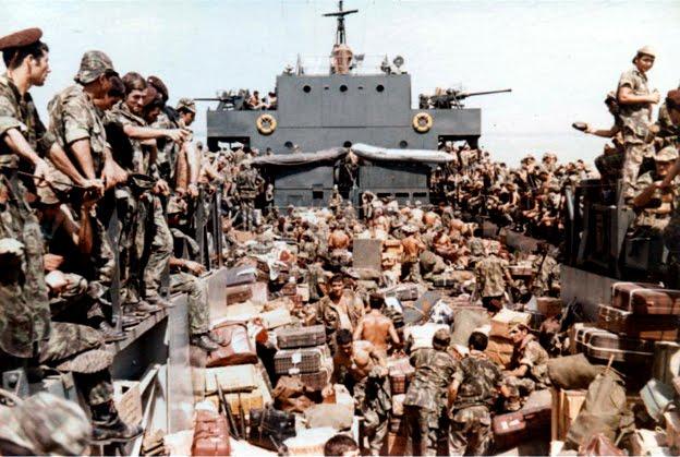 """XIME, FEV 1974 - O regresso, a """"LDG"""" que nos transportou a Bissau [Clicar na Imagem]"""