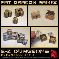E-Z Dungeons scenery