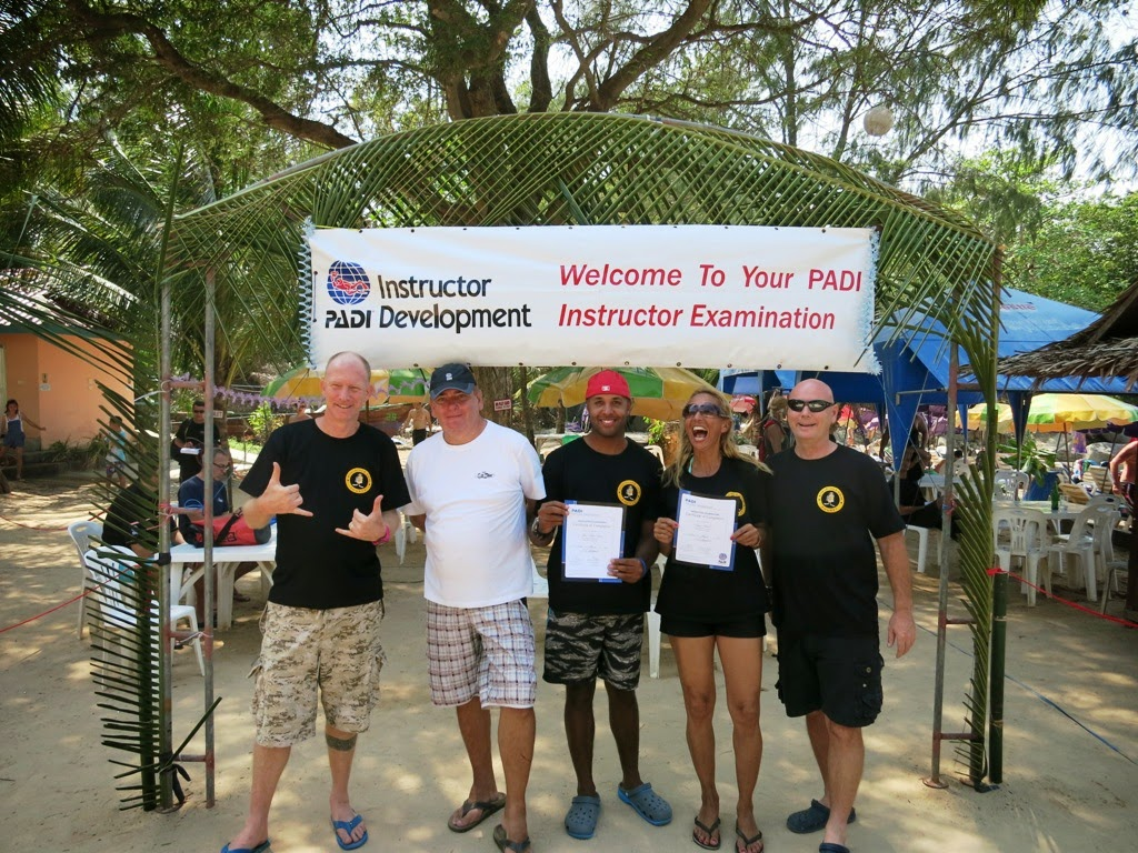 PADI IE March 2014, Phuket, Thailand