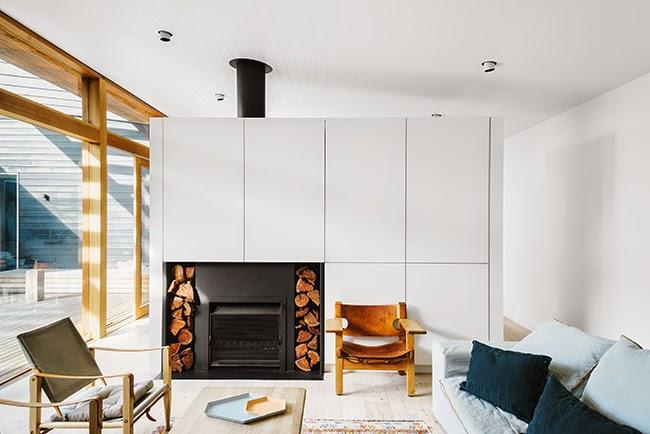 simplicity love sorrento beach house australia shareen joel design