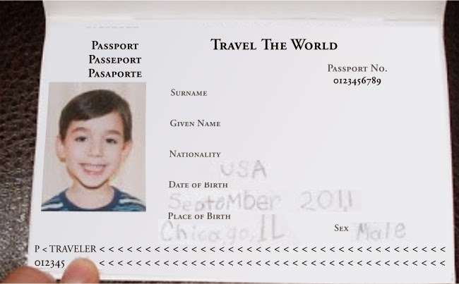 Little Pretend Passports