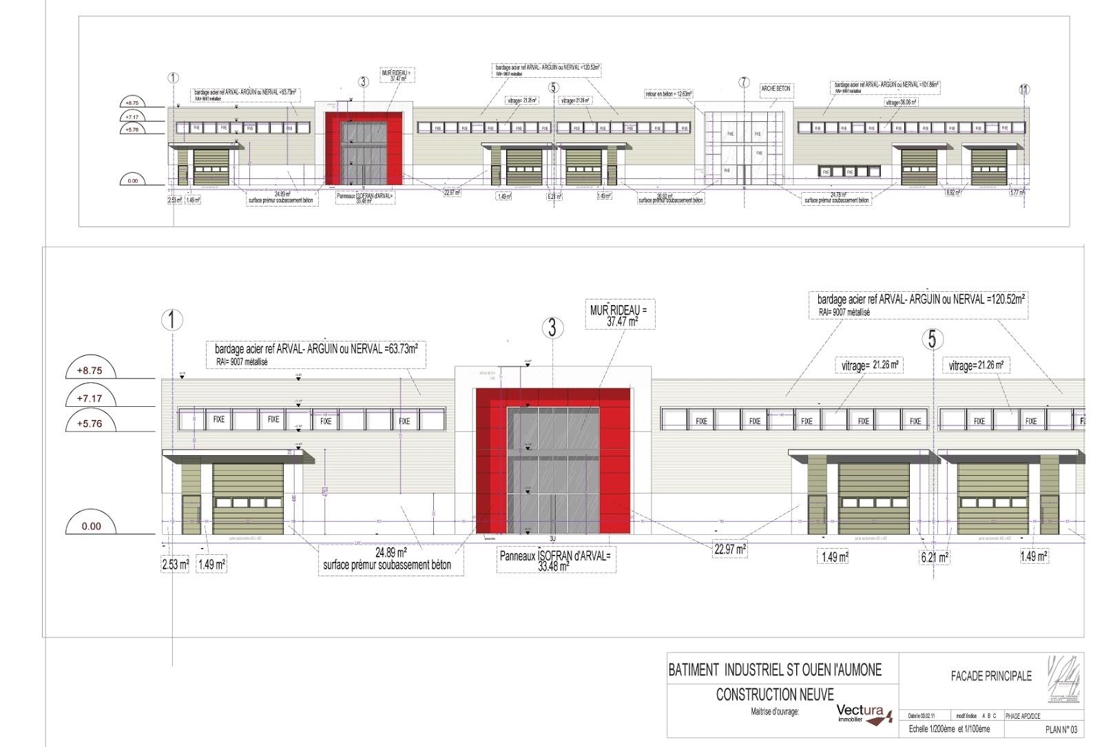 Sophie bannwart architecte d 39 int rieur chantier st ouen for Dce batiment