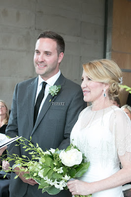 Wedding Ceremony at the Gardiner Museum Toronto Ontario
