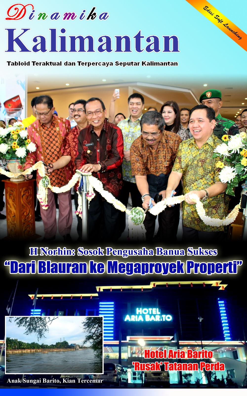 Epaper Dinamika Kalimantan Edisi 1 Nopember 2012