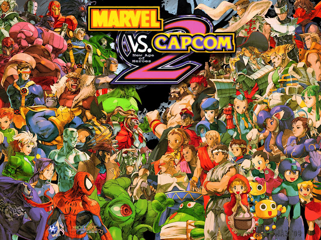 marvel vs capcom 2 capcom unity fighting game