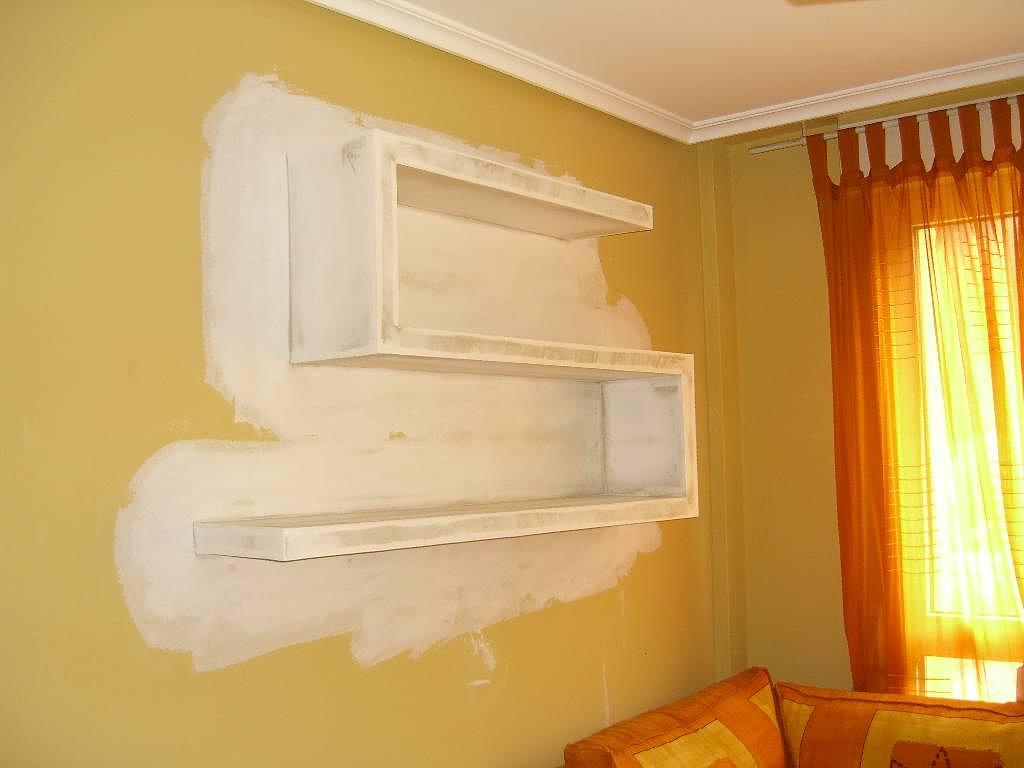 Drywall construye muebles drywall for Modelos de gibson para techos