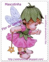 Mascotinha da Flor de Jasmim
