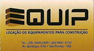 EQUIP (Locação de Equipamentos para construção)