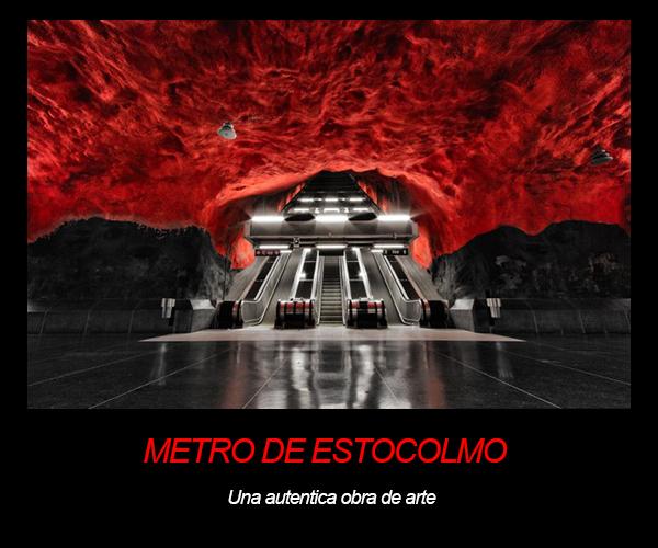 Metro de estocolmo suecia the world - Metro de estocolmo ...