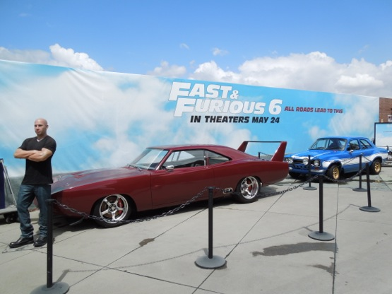 Fast Furious 6 movie cars
