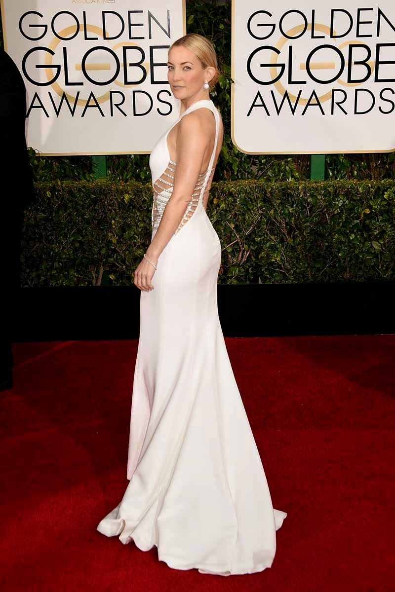 red carpet, luxe, Golden Globes Awards, dress, Esencia Tendy, look, Asesoria De Imagen y Protocolo, Protocolo, Personal Shopper, jewels, Kate Hudson