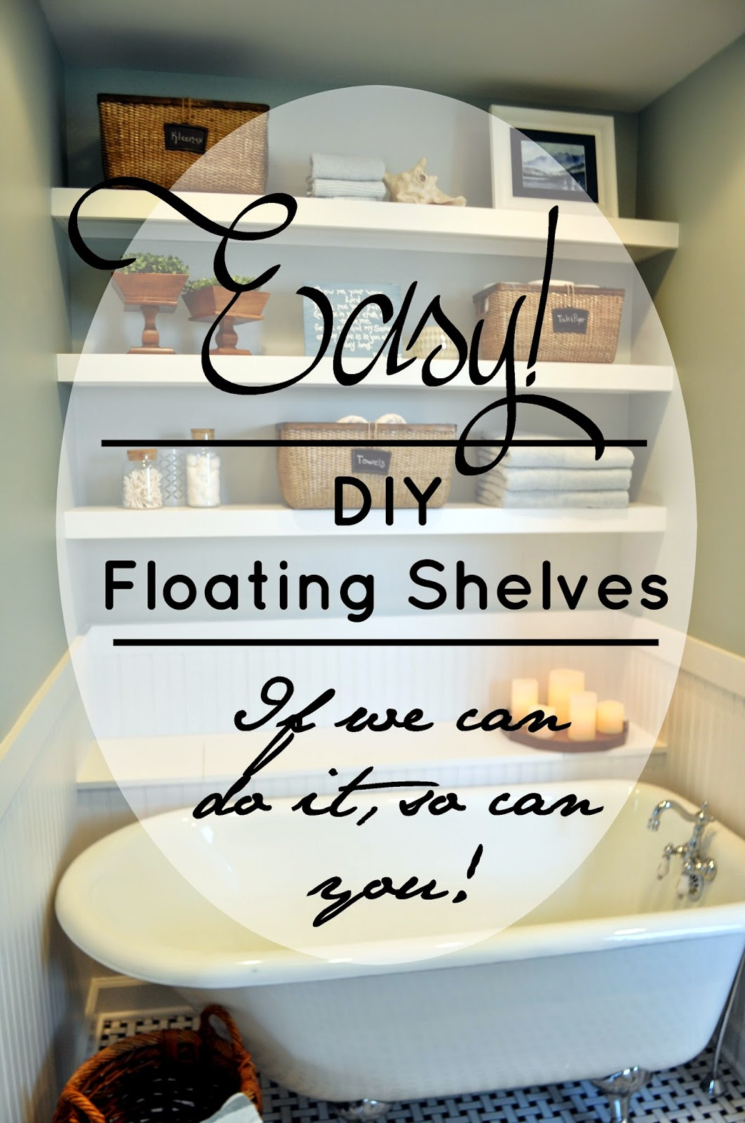 DIY Floating Shelves, How To