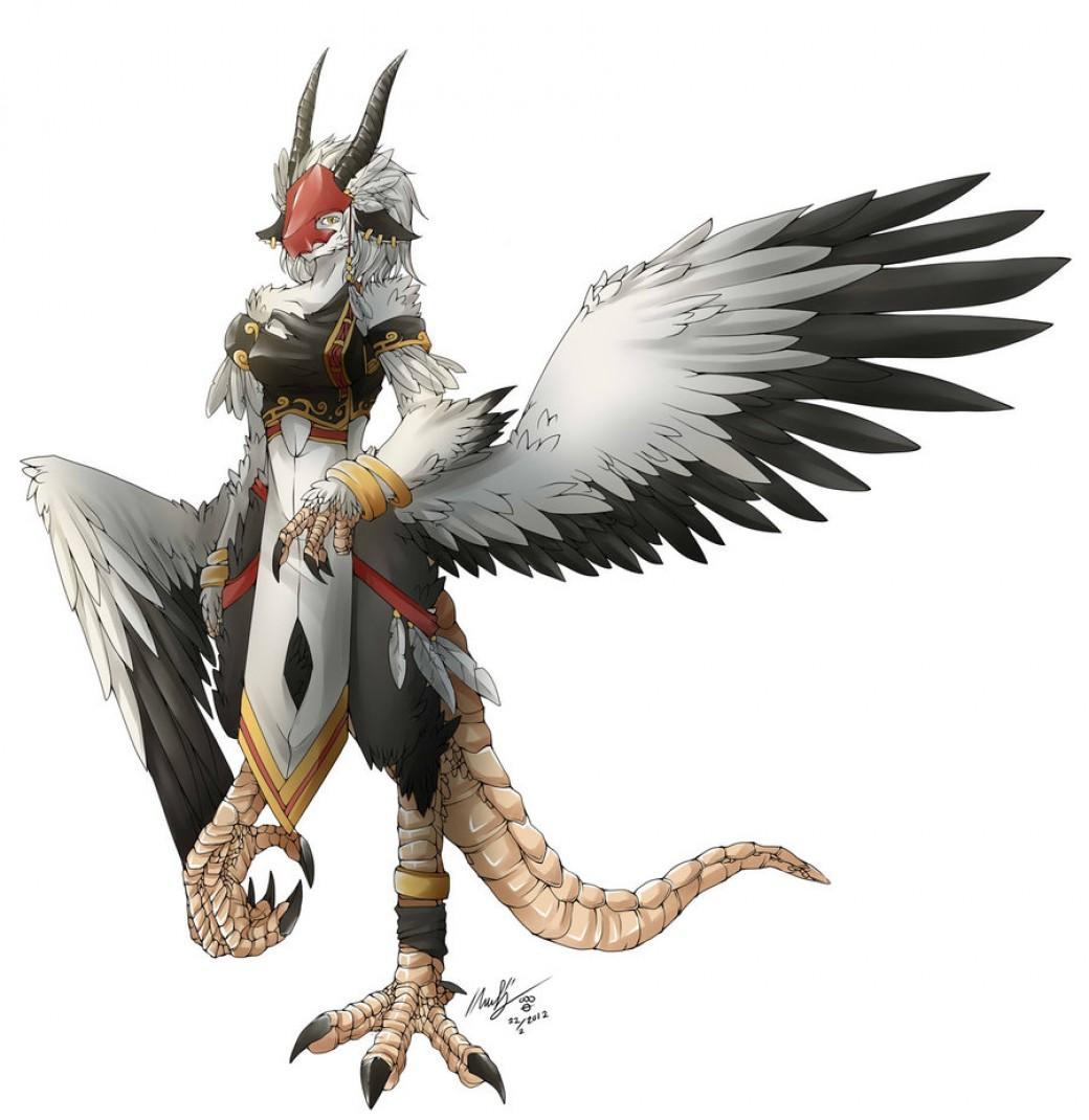Commission : NPC Harpy por sinlaire