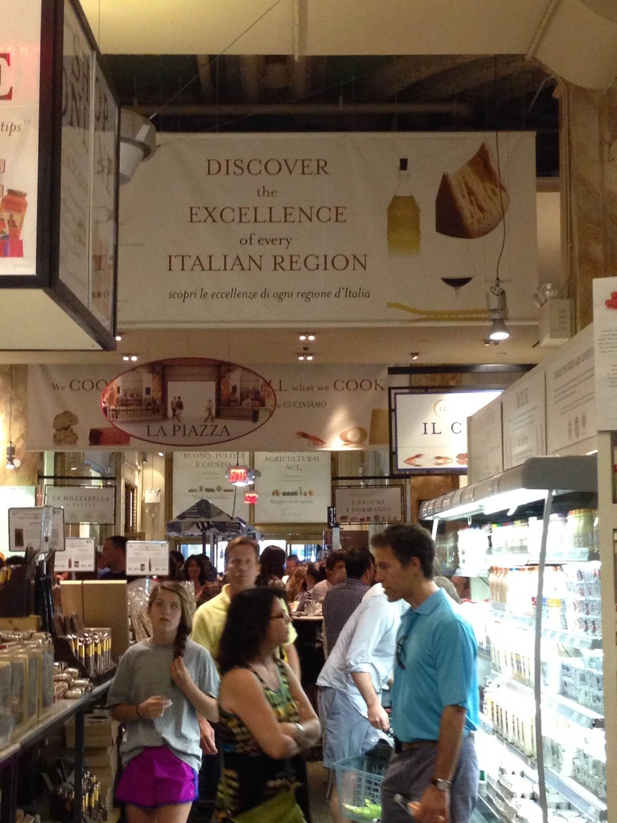 GG\'s Recipes, Reviews & Rhetoric: A Visit to Eataly and The High ...