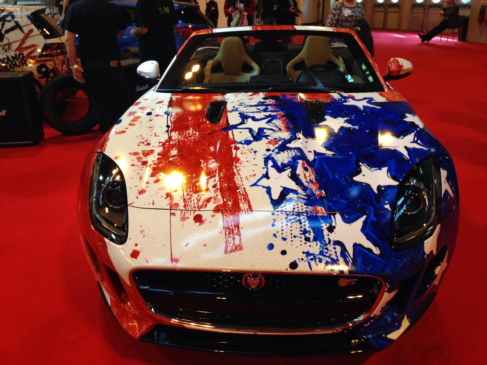 Pop Bang Colour at the 2014 Autosport Show