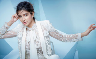 Anushka Sharma in Wite and Whtie Soft Pictureshoot Lovely Latest Pics