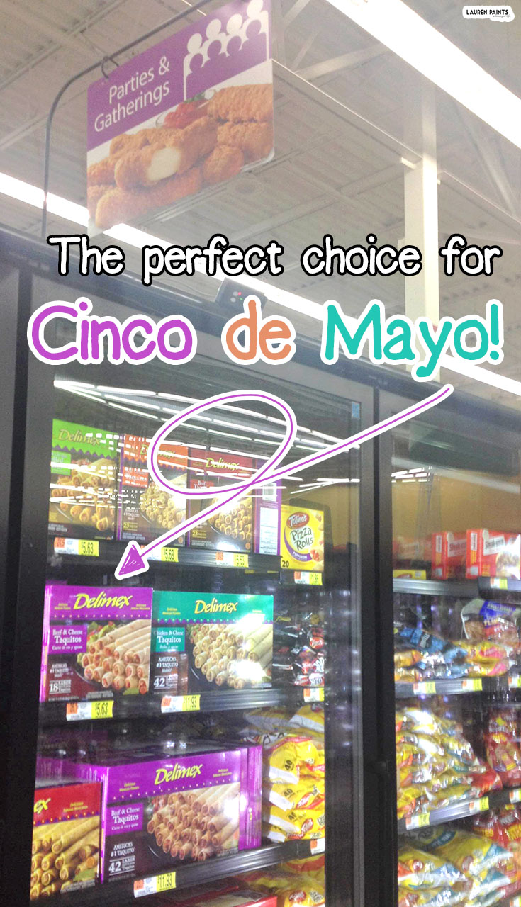 It's a Fiesta - Have a Delicious Cinco de Mayo with Delimex!  #DelimexFiesta