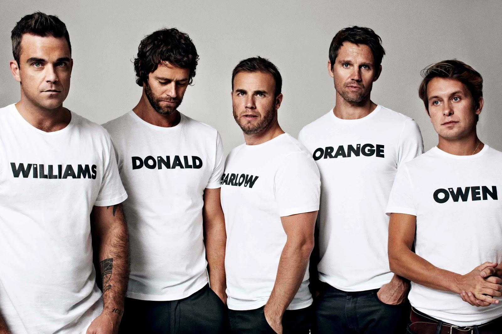 howard donald, jason orange, gary barlow, mark owen, take that, abandono, el zorro con gafas
