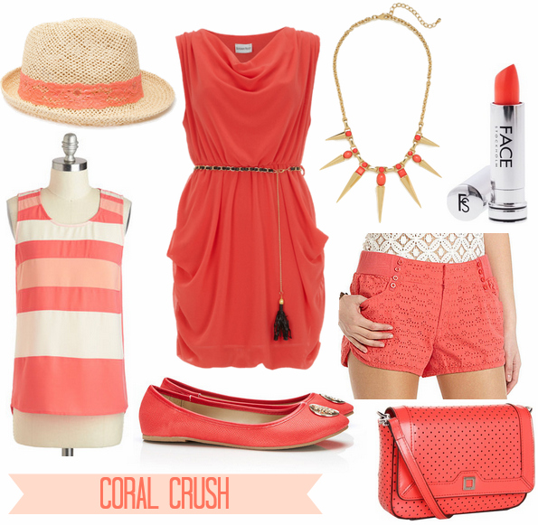 coral clothes