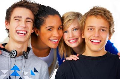 High school friends - boys and girls