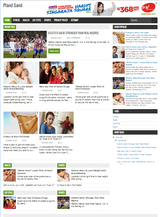 Topmagz New Blogger Template