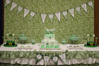 Green and White St. Patricks Day Birthday Party