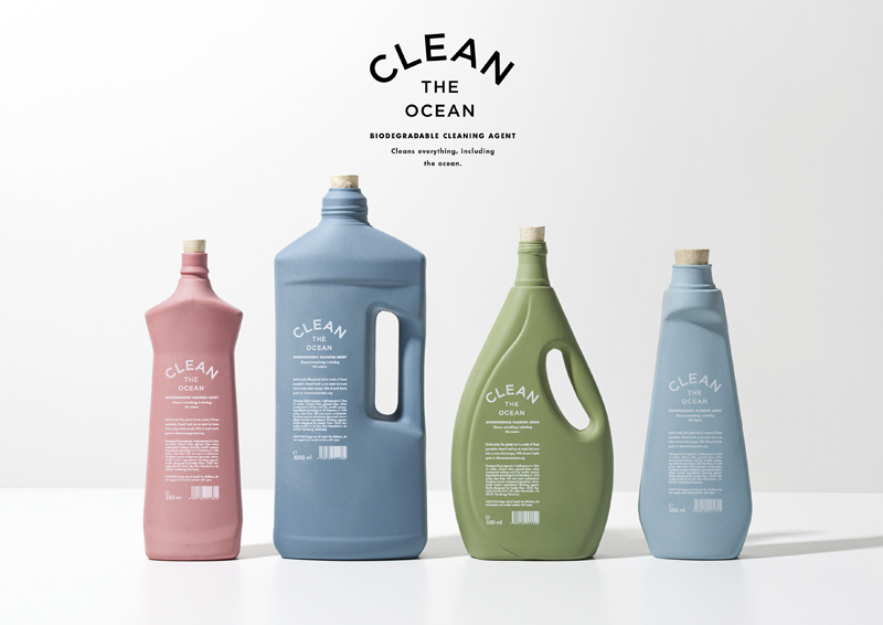 Clean The Ocean Biodegradable Cleaning Agent On