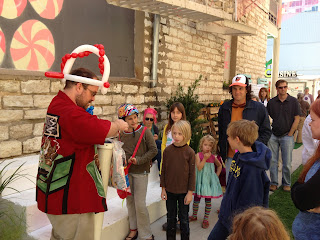 Alley Kids Day in downtown Austin alley