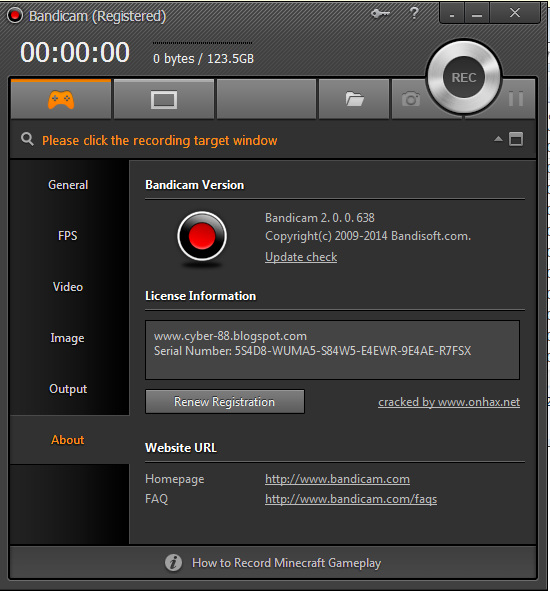 Download Bandicam 2.0.0.638 Full Version + Crack Terbaru