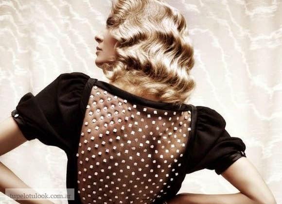 peinados 2014 ondas al agua