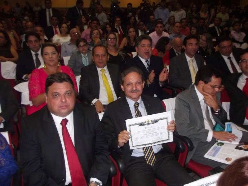Diplomação dos eleitos no Piauí