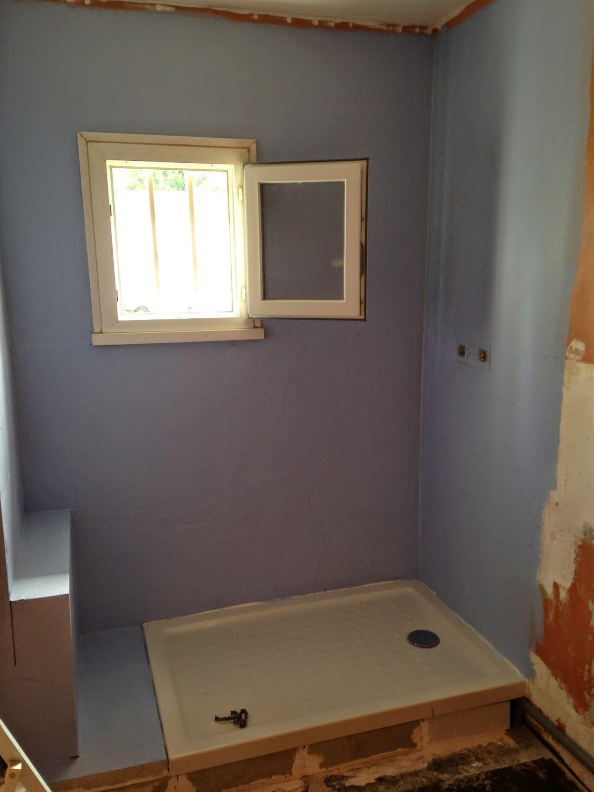 Alc plomberie salle de douche - Revetement douche etanche ...
