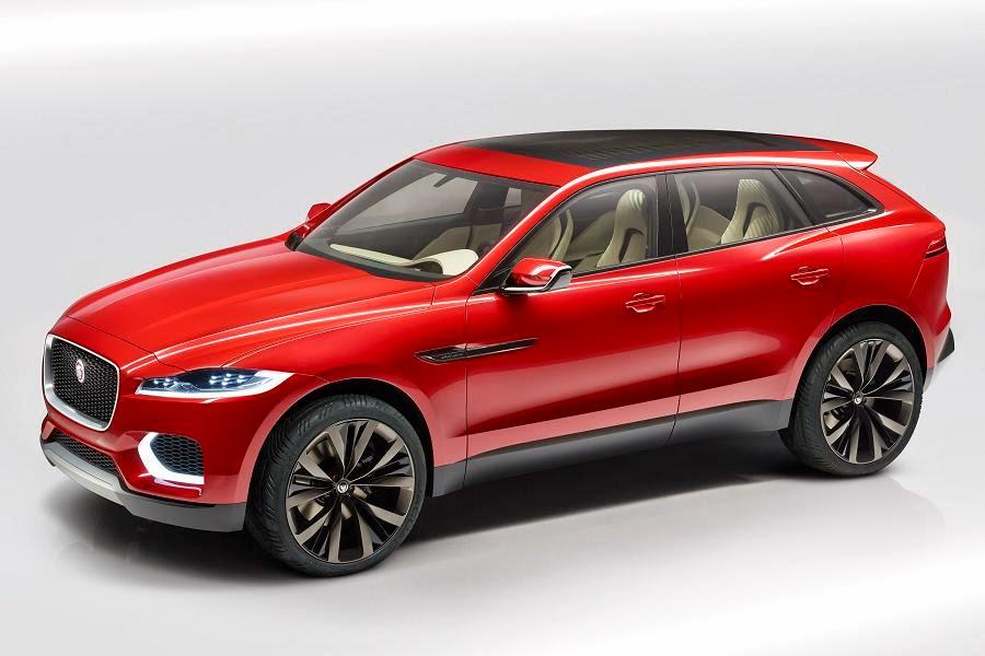 Jaguar C-X17 Sports Crossover Concept (2014) Front Side