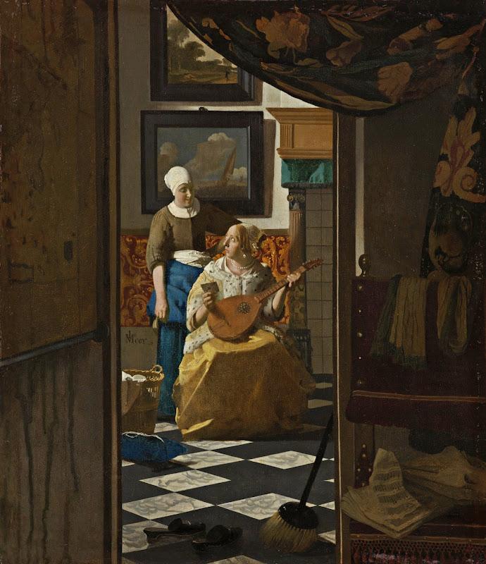 Johannes Vermeer - De liefdesbriet