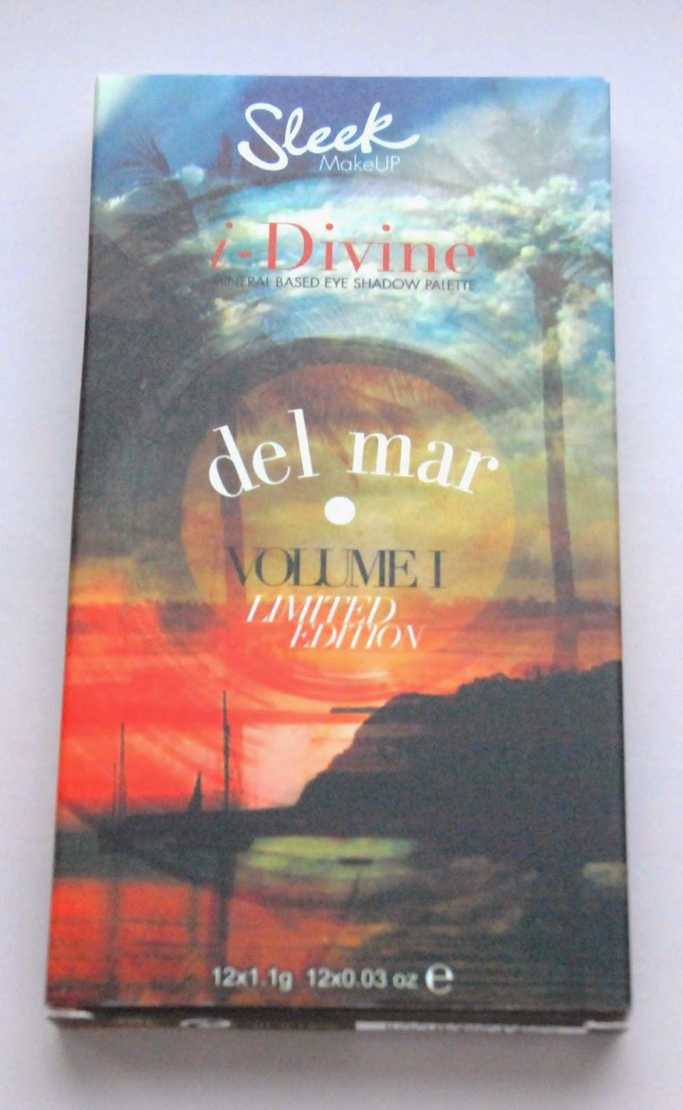 "Sleek ""Del Mar"". Swatche, recenzja, makijaż."